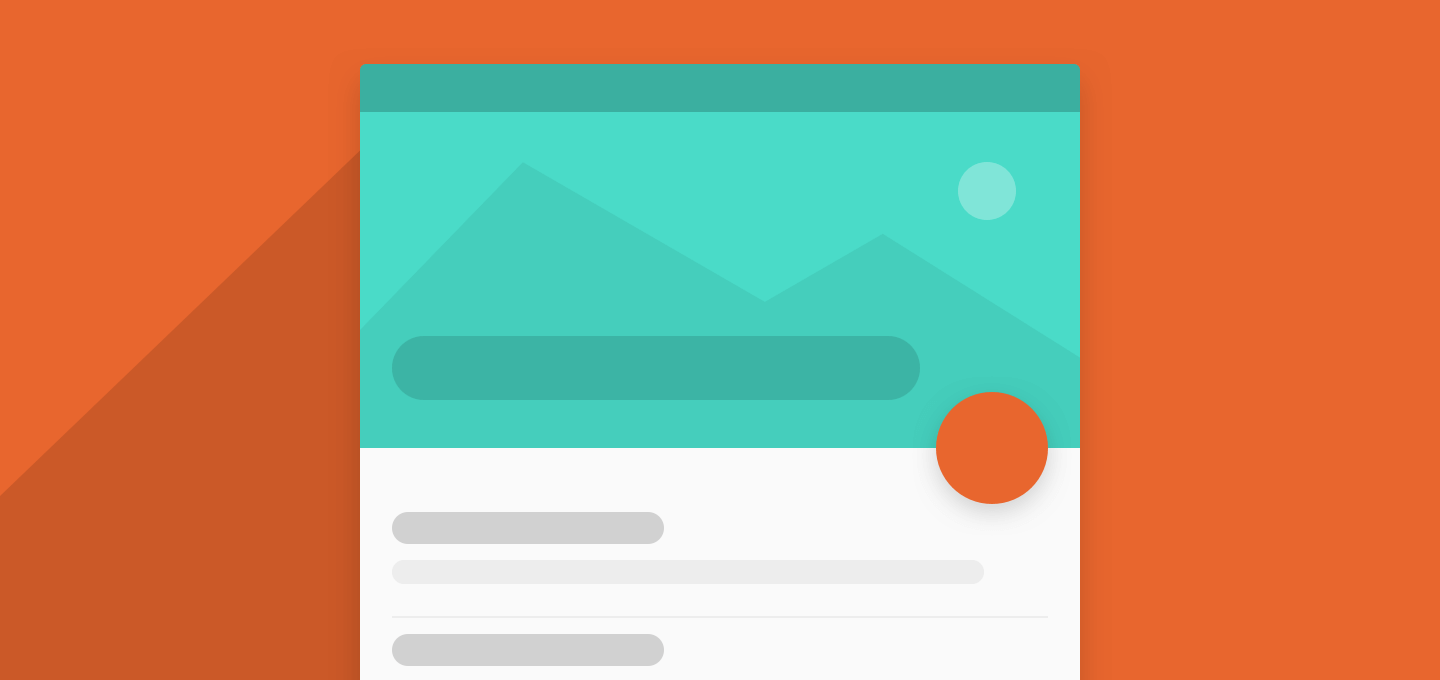Creating the Flexible Space with Image Pattern on Android
