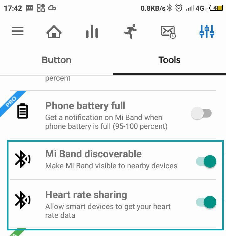 How to use Xiaomi Mi Band 3 with Android Pulsoid app