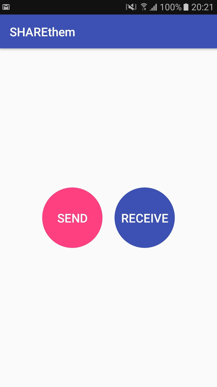 SHAREthem — Android library to simulate How SHAREit works