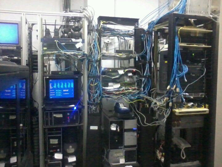 GDLN UNUD server room photo from foursquare because I lost my images.