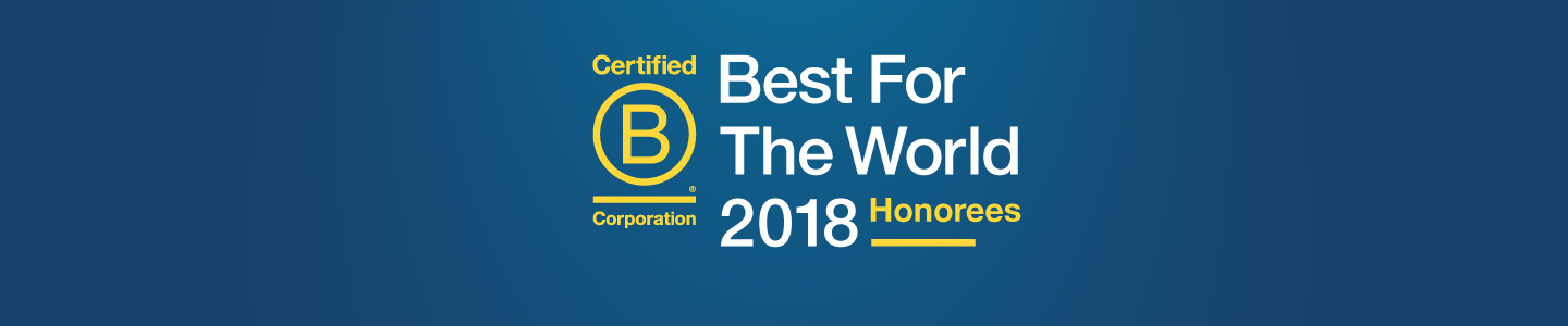 Meet the 2018 Best For The World Honorees - B the Change
