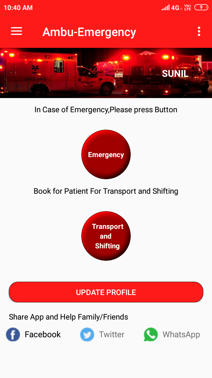 Top 5 Ambulance Apps You Need On Your Phone Saving Life At The Touch Of A Button By Sunil Sathyendra Medium A voicy / sound effect of 'call an ambulance! top 5 ambulance apps you need on your