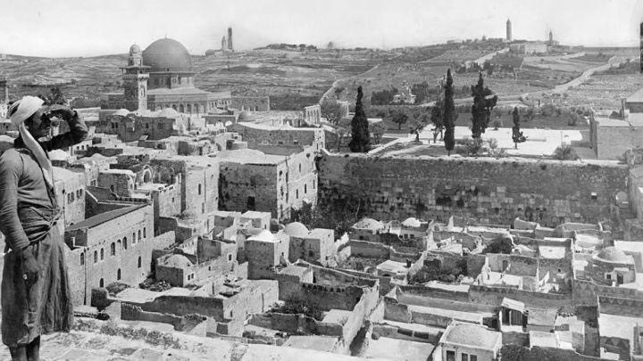 The Moroccan Quarter in 1917 (New York Times Photo Archive)