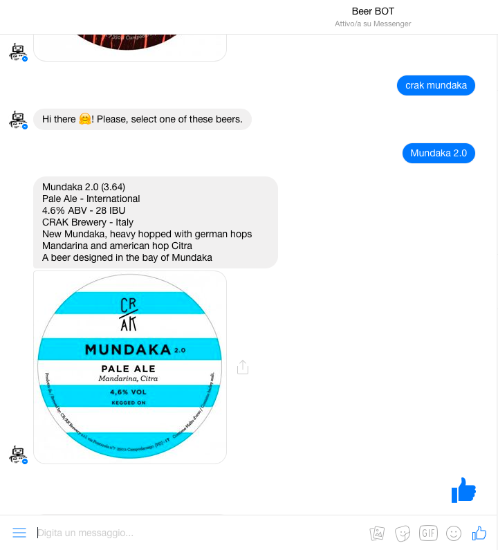 Beer Bot: The First Brewer Chatbot On Messenger - Chatbots