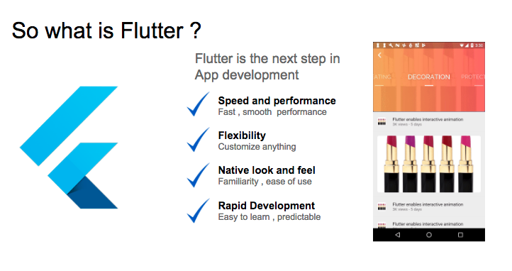 Why I fell in love with Google Flutter & Dart from the first