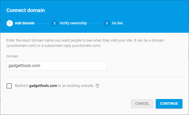 Connect Your Domain or Subdomain to Firebase Hosting