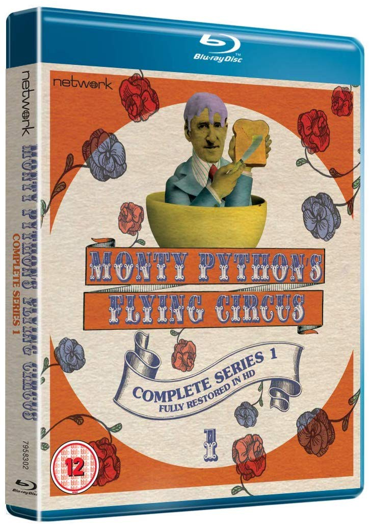Monty Python S Flying Circus Complete Series 1 Fully Restored In Hd Blu Ray Dvd Network By Dan Owen Frame Rated Medium