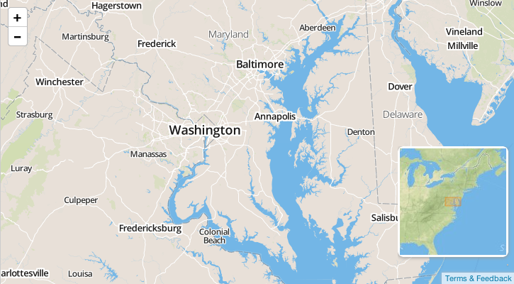 Using Leaflet plugins with MapBox js: A Showcase - Points of