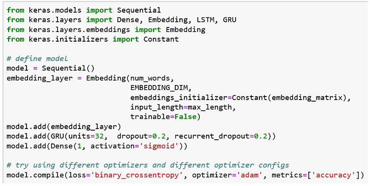 Machine Learning — Word Embedding & Sentiment Classification
