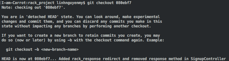 How to revert to a previous commit when you've already