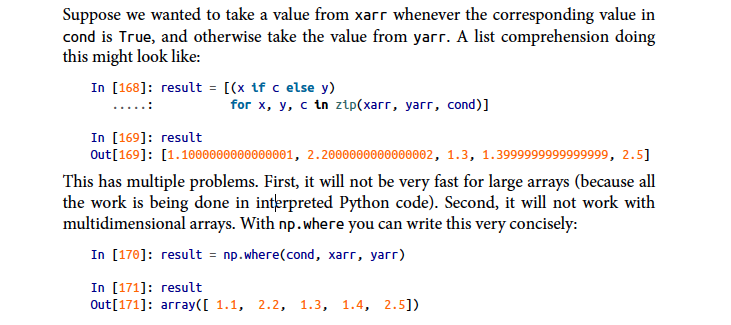 Expressing Conditional Logic as Array Operations