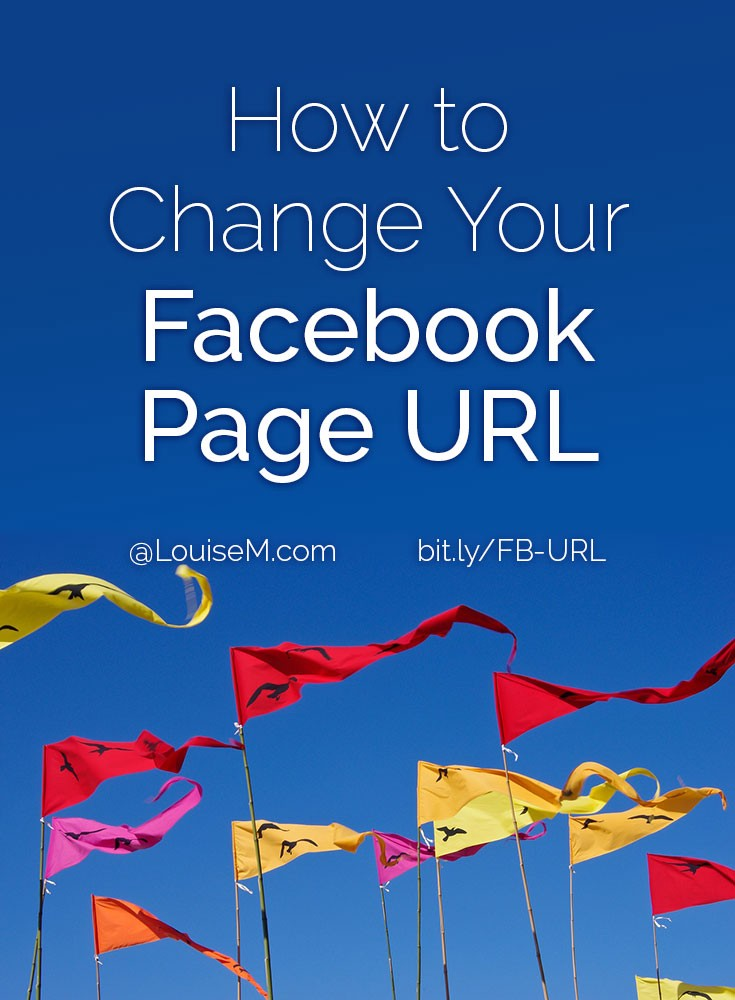 How to Change Your Facebook Page URL / Username / Vanity URL
