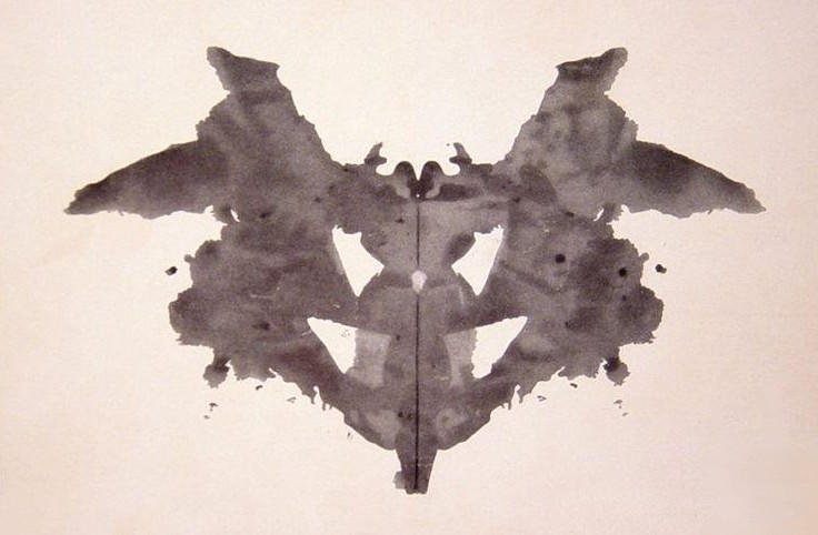 Your dataset is a giant inkblot test