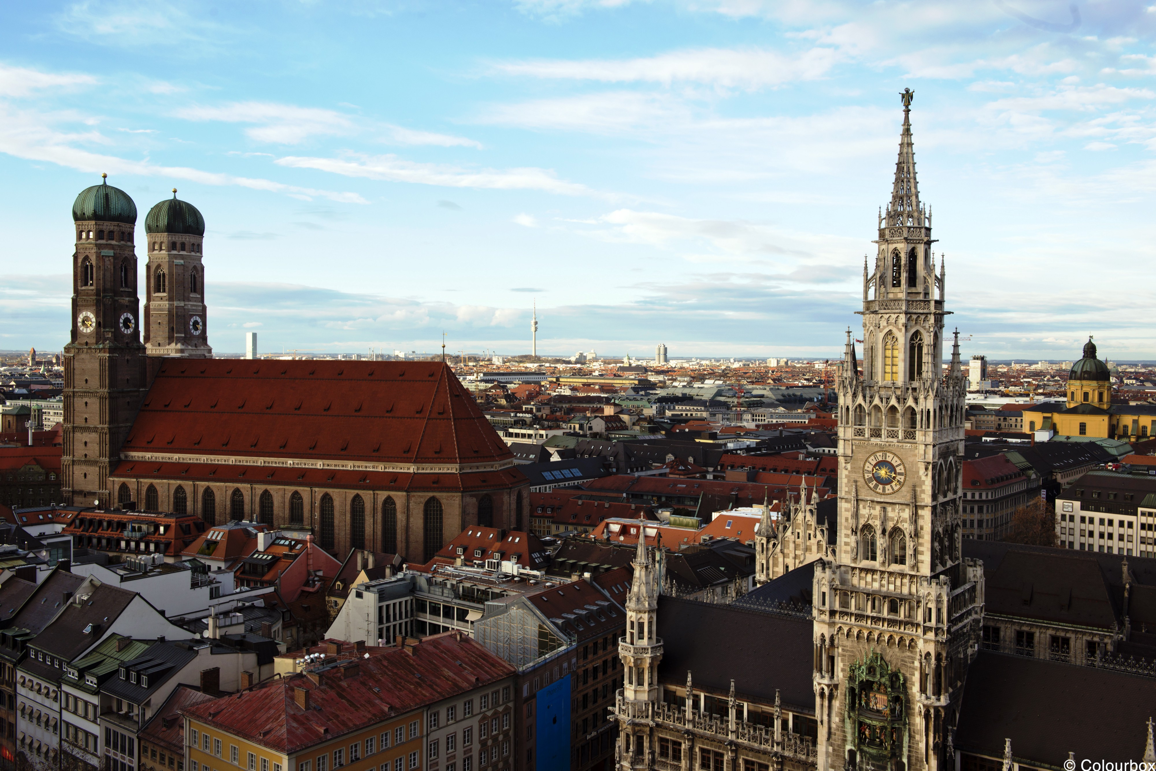 Munich U2014 Capital Of The Southern German State Of Bavaria