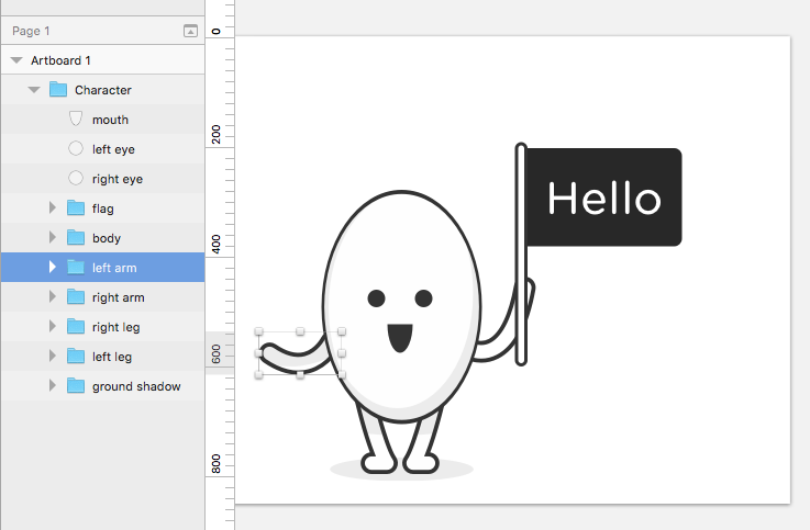 Quick and Simple Character Animation with Principle app
