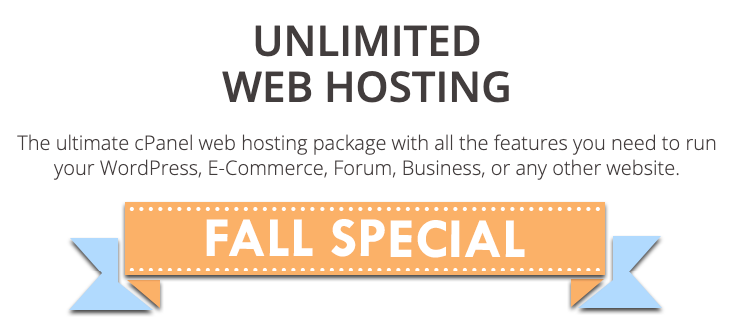 InterServer Fall Special Banner