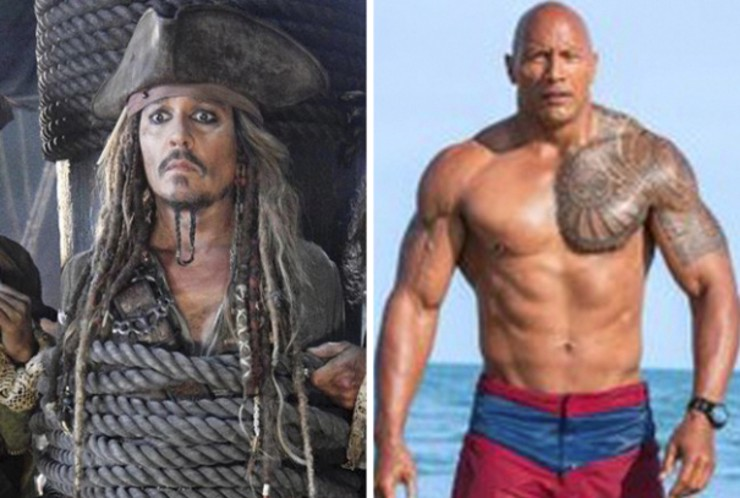 Pirates of the caribbean dead men tell no tales baywatch 2 shot