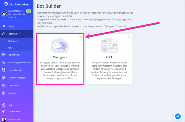 How to Use a Messenger Chatbot for a Facebook Group