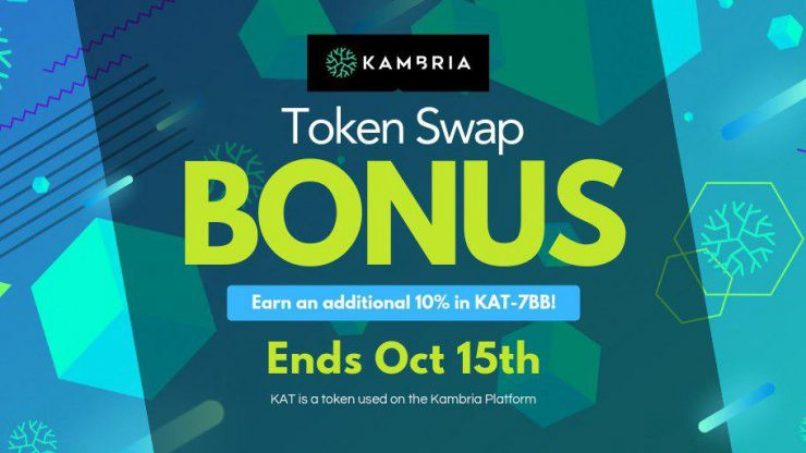 Kambria Token Bonus Swap Event