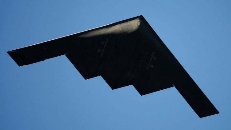 File photo - A B-2 Stealth Bomber performs a flyover at the 126th Rose Parade in Pasadena, California January 1, 2015. (REUTERS/David McNew)