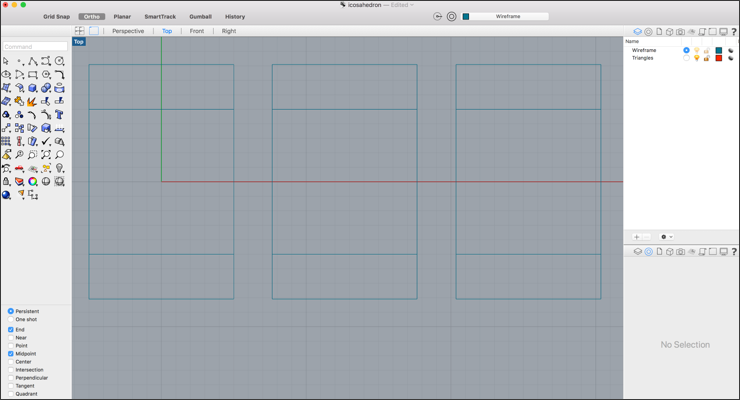 Create a Wireframe Pendant Using Rhino 3D and Meshmixer: Part 1