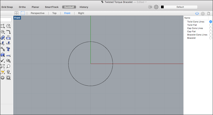 Learn How to Make Twists in Rhino 3D -Create a Torque Style