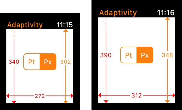 How Apps Adapt to the Series 4 Apple Watch Screen Sizes