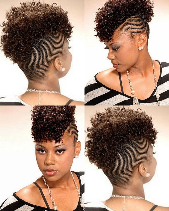 Beautiful Simple Short Dread Styles For Females By Black Kitty Family Medium