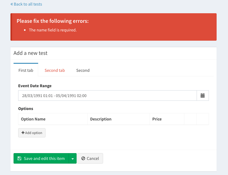 Laravel Nova vs Laravel Backpack: a review of the features