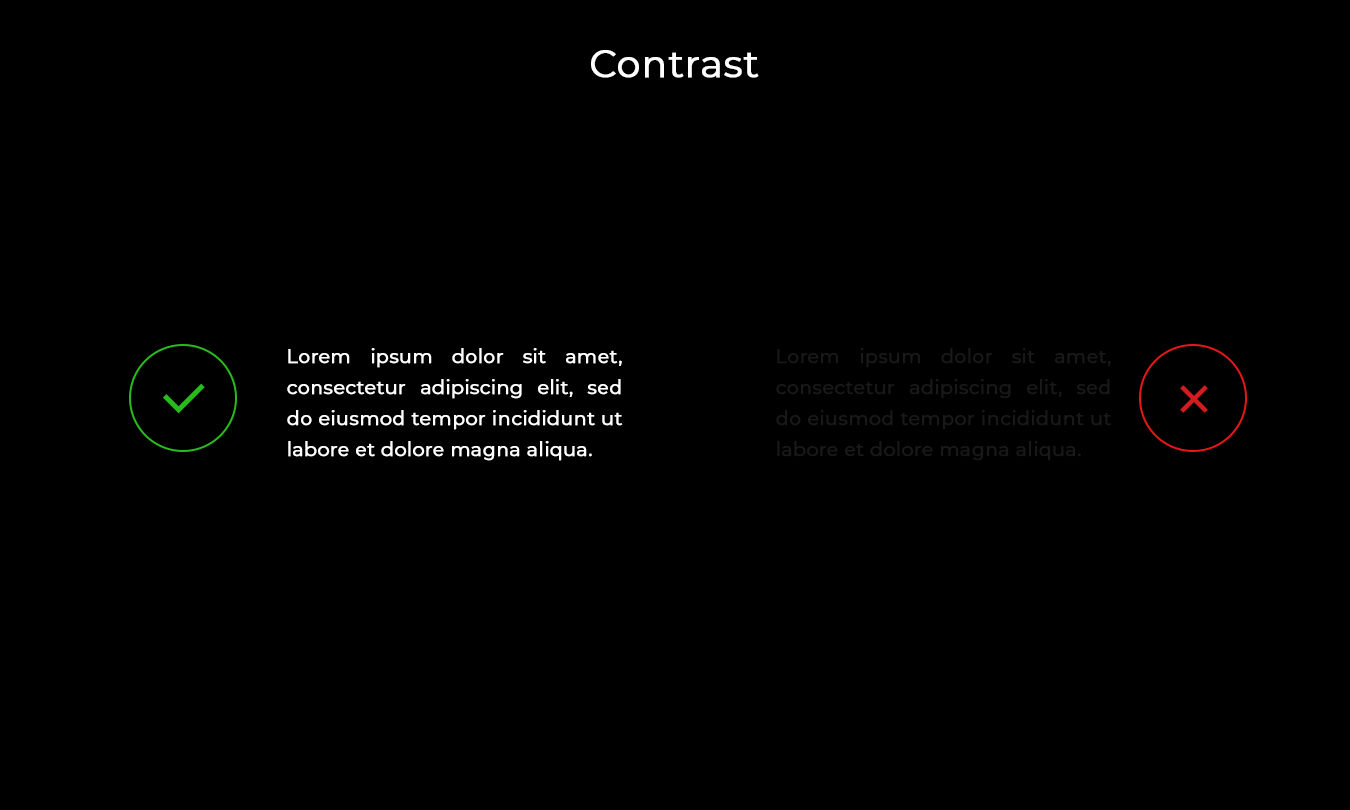 Contrast play  7 Winning Design Tips and Strategies For App UI/UX Developers 1 K7v0HdLo5YmI0ANepoWhGA