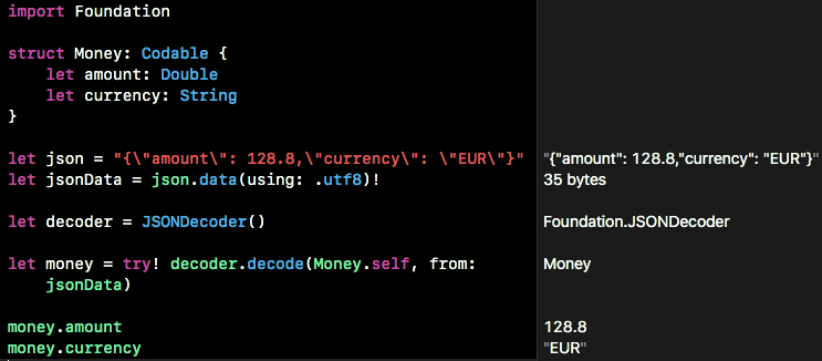 Decoding money from JSON in Swift - Wultra Blog - Medium