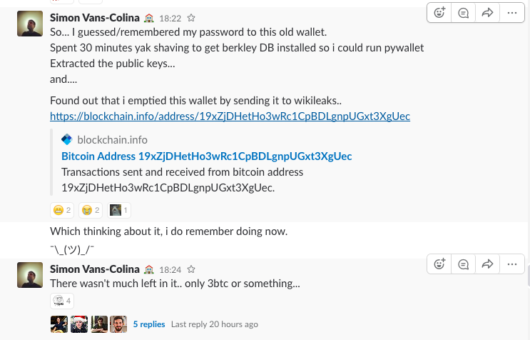 I found an old bitcoin wallet! - Simon Vans-Colina - Medium