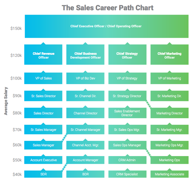 sales career path ideal candidate