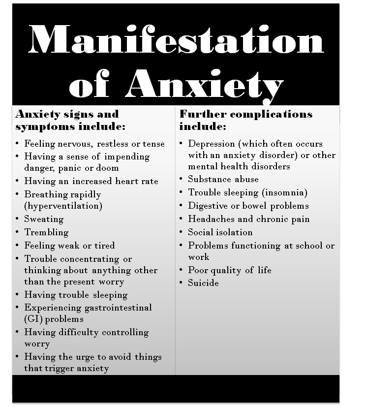 Stress and Anxiety: A Public Service Announcement - Lilia