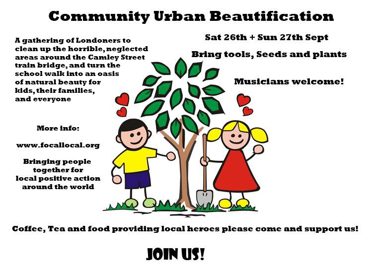 Urban Beautification Poster
