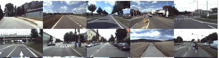 New Dataset for Self-Driving Agents and Mapping Tasks
