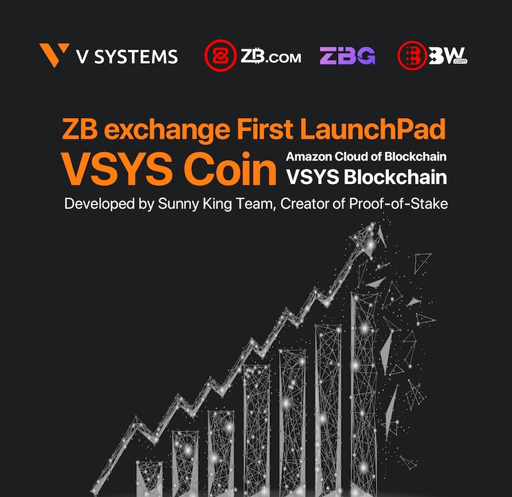 On 27th ZB com, ZBG and BW Announce First LaunchPad with V