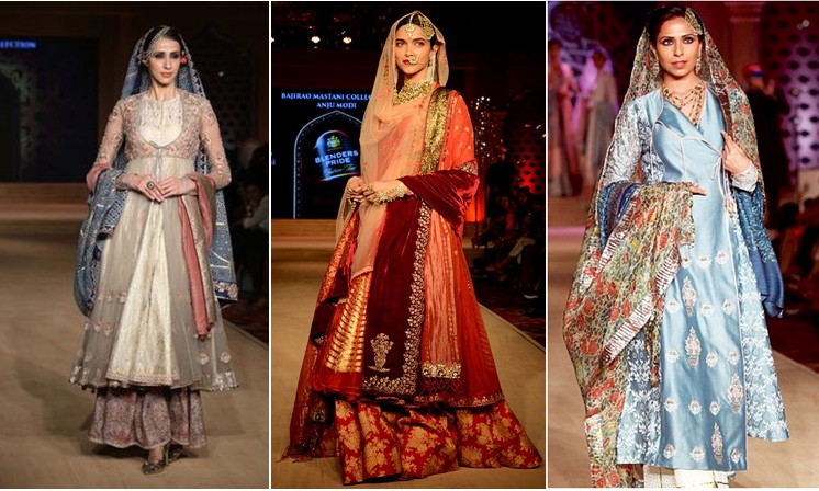 Runway Looks Inspired By Deepika S Mastani Magic By Simaayafashions Medium