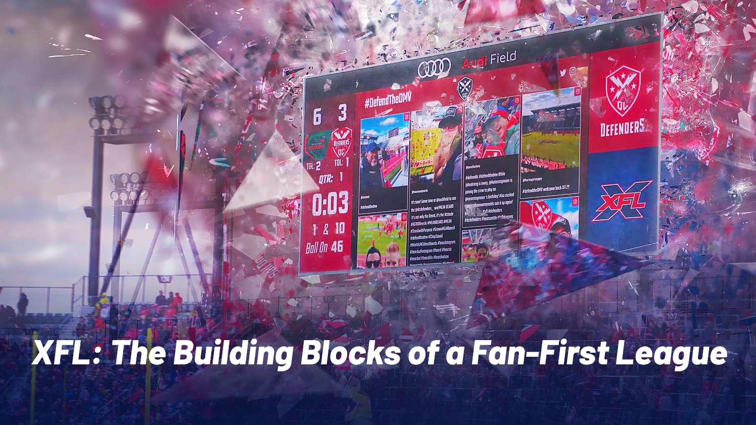 XFL: The Building Blocks of a Fan-First League