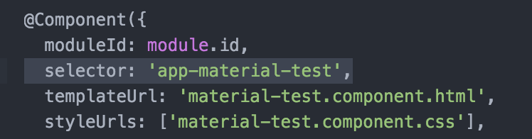 Setting Up and Testing Angular Material 2 Components in your