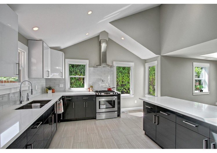 Top 7 Amazing Kitchen Countertop Ideas For Your Grey Cabinets By Cabinet Diy Cabinet Diy Medium
