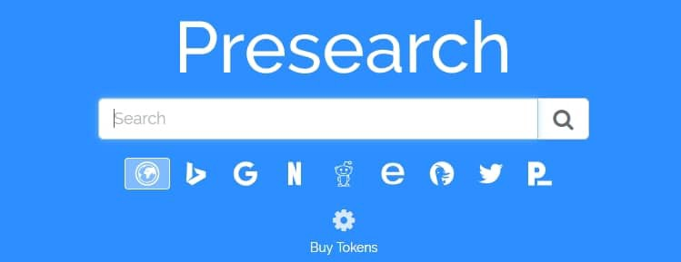 Using Presearch and Ecosia at the same time!