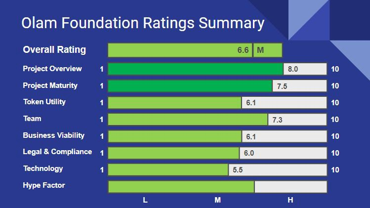 Olam Foundation Ratings Summary