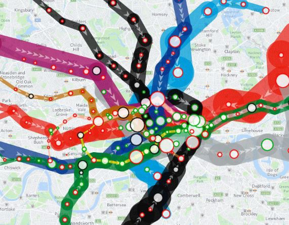 5Things — London Tube Maps, K12 GIS, GIS Reponse to