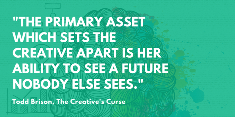 Buy The Creative's Curse on Kindle!