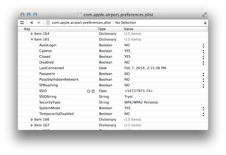 OSX Airport Preferences Forensics - Scott J Roberts - Medium
