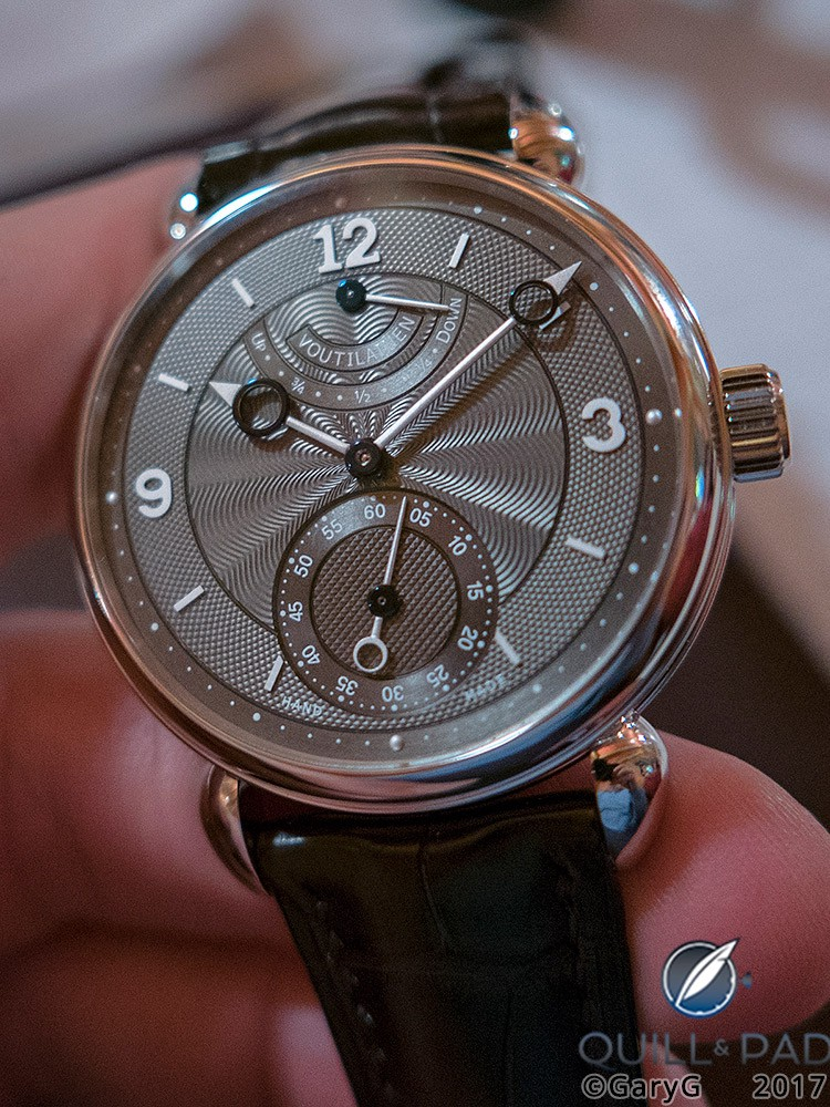 Vingt-8 with Power Reserve at 12 o'clock