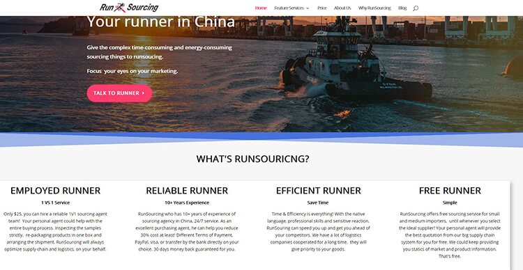 The Best TOP 10 China Sourcing Agent Review - Runsourcing