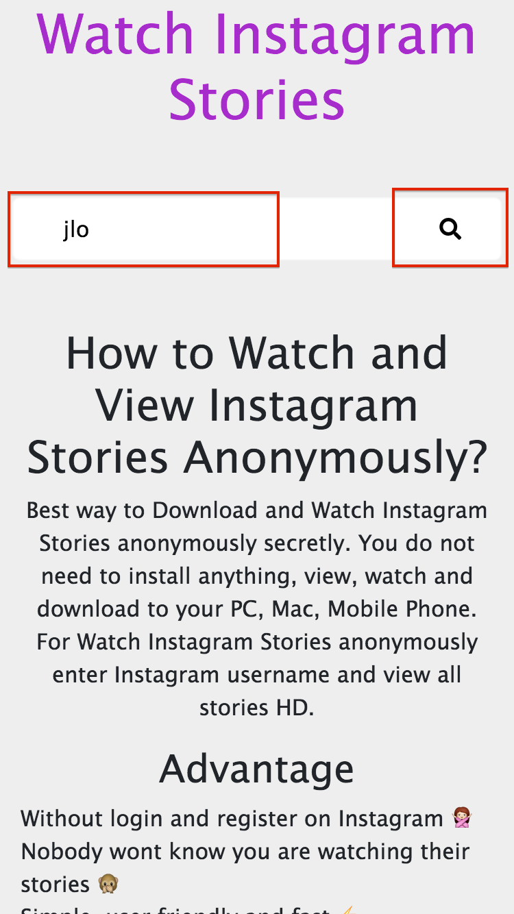 Download and Watch Instagram Stories Anonymously - Stories
