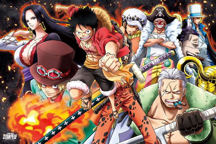 One piece stampede streaming